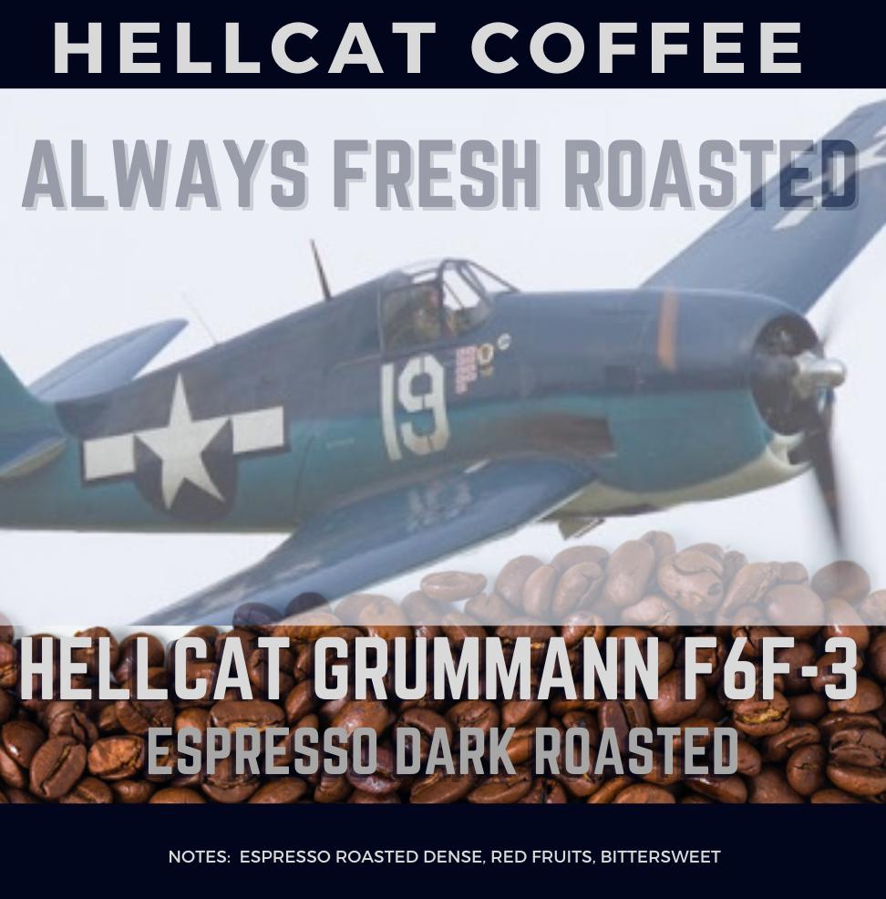 Hellcat F6F-3 Italian Espresso Roast Product Design