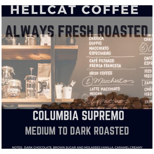 Columbian Supremo Product Design
