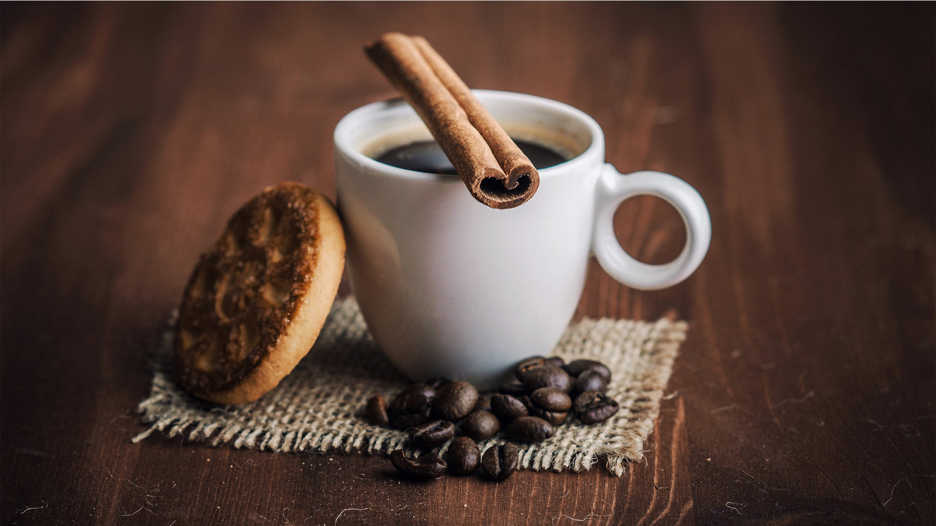coffee with cookie background pic